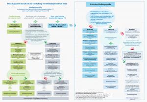 Flussdiagramm der DGSV zur Einstufung von Medizinprodukten