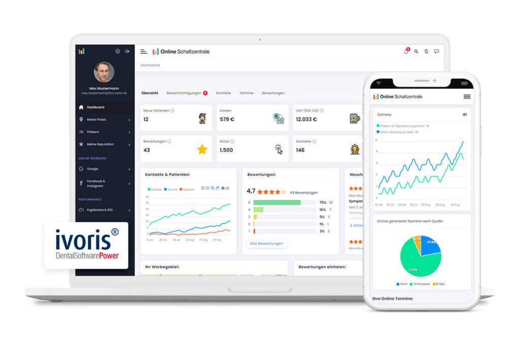 Online Schaltzentrale WinLocal und ivoris
